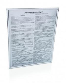 Hinweisschild Jugenschutzgesetz