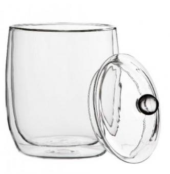 Eisbehälter Borosilikatglas