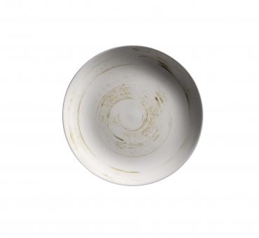 Teller flach rund 26,8 cm weiß Porzellan Derby Mäser