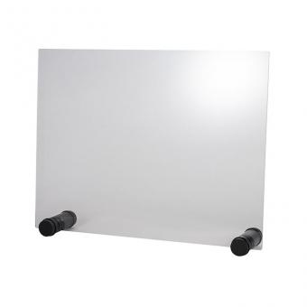 Hygieneschutzwand ROUND, 75 x 57 cm