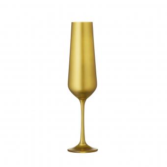 Champagnerglas gold 2er Set BAR Selection Bohemia Cristal