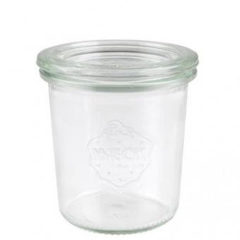 Weck-Mini-Sturzglas 140 ml mit Deckel Set 24-teilig