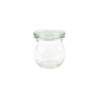 Weck-Mini-Tulpenglas 75 ml mit Deckel Set 24-teilig
