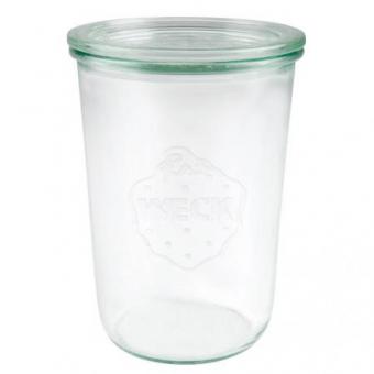 Weck Sturzglas 850 ml mit Deckel Set 12-teilig