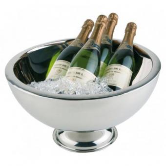 Champagnerschale doppelwandig