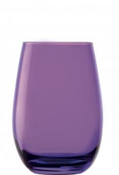 Becher lila Glasserie Elements Stölzle