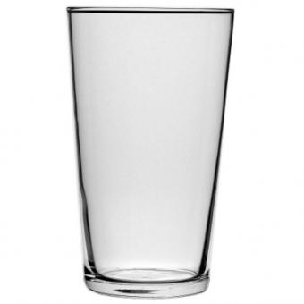 Bierglas Lager / Cocktailglas Conique 570 ml stapelbar geeicht/Druck ab 1000 Stück Druck 1-farbig geeicht 0,4l