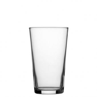 Bierglas Lager Conique 280 ml stapelbar geeicht/Druck