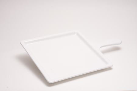 Quadratisches Tablett mit Griff Melamin Primeware