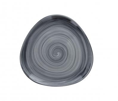 Teller runde Form 27x28cm grigio Geschirrserie Giotto Tognana
