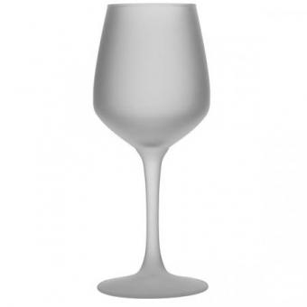 Glühweinkelch/Glühbierglas 0,2l gehärtet satiniert mit Druck
