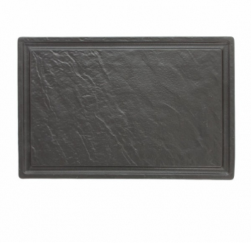 Steakplatte 42x28 cm Vulcania schwarz Tognana