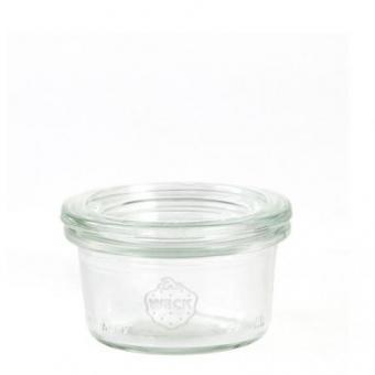 Weck-Mini-Sturzglas 50 ml mit Deckel Set 24-teilig