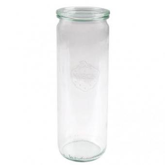 Weck-Glas Zylinder 600 ml mit Deckel Set 12-teilig